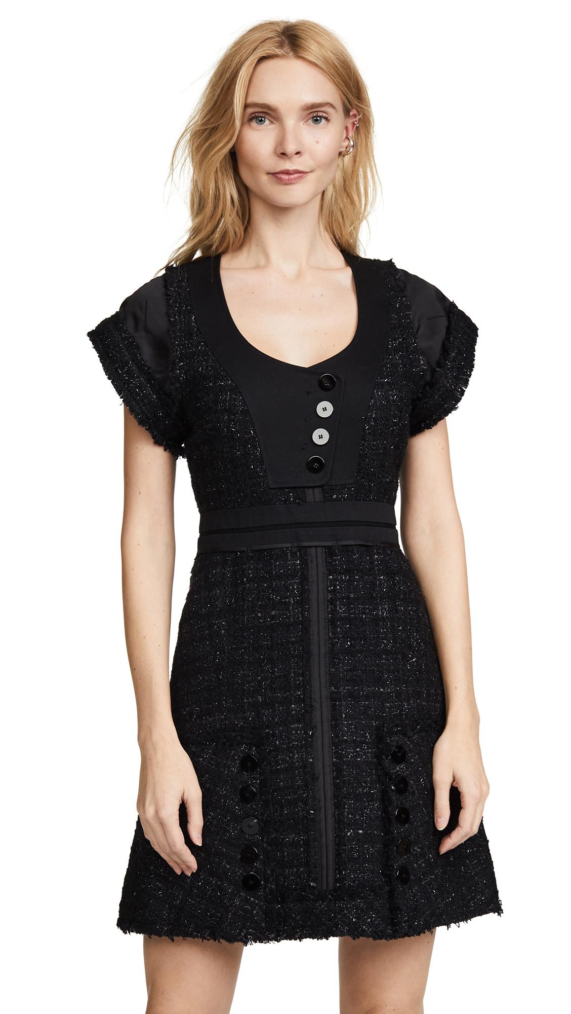Alexander Wang Deconstructed Tweed Dress