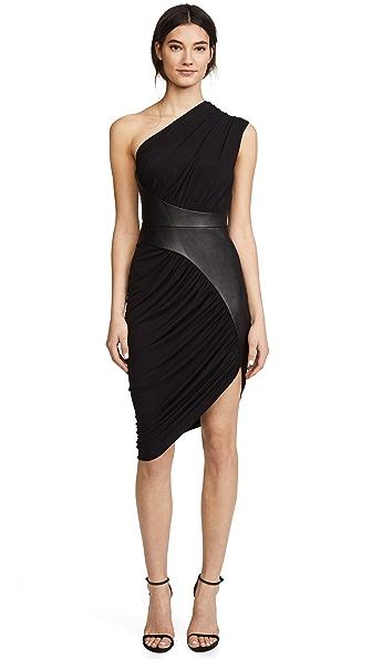 Alexander Wang Asymmetrical Draped Dress at Shopbop