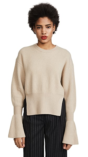 Alexander Wang Engineered Pullover with Side Slits at Shopbop
