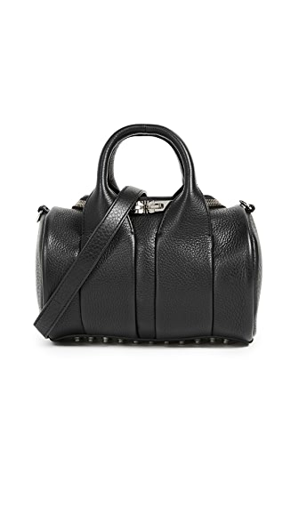 Alexander Wang Mini Rockie Duffel Bag In Black