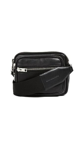 Alexander Wang Attica Soft Large Cross Body Bag In Black