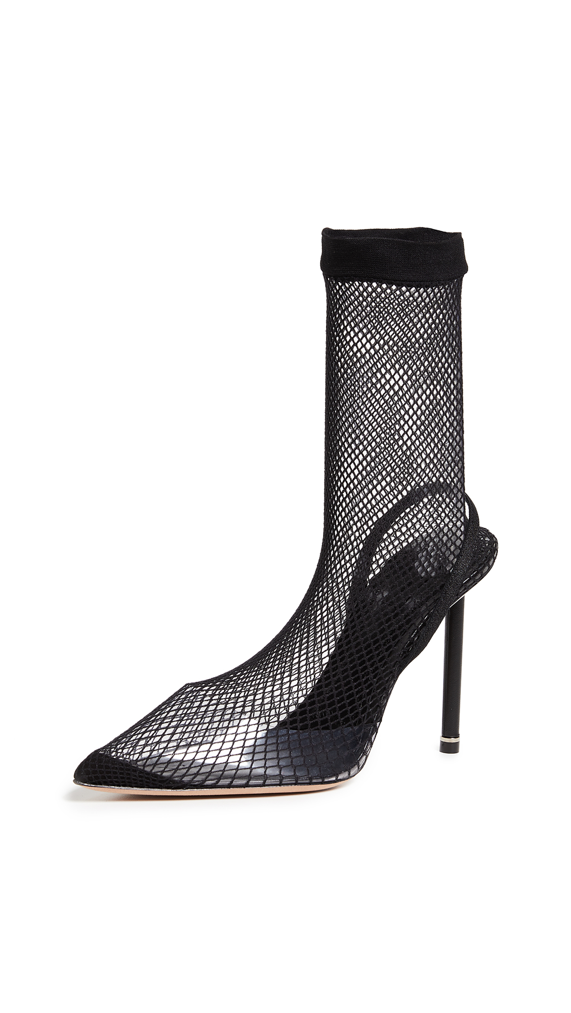 Alexander Wang Caden High Heel Booties - Black