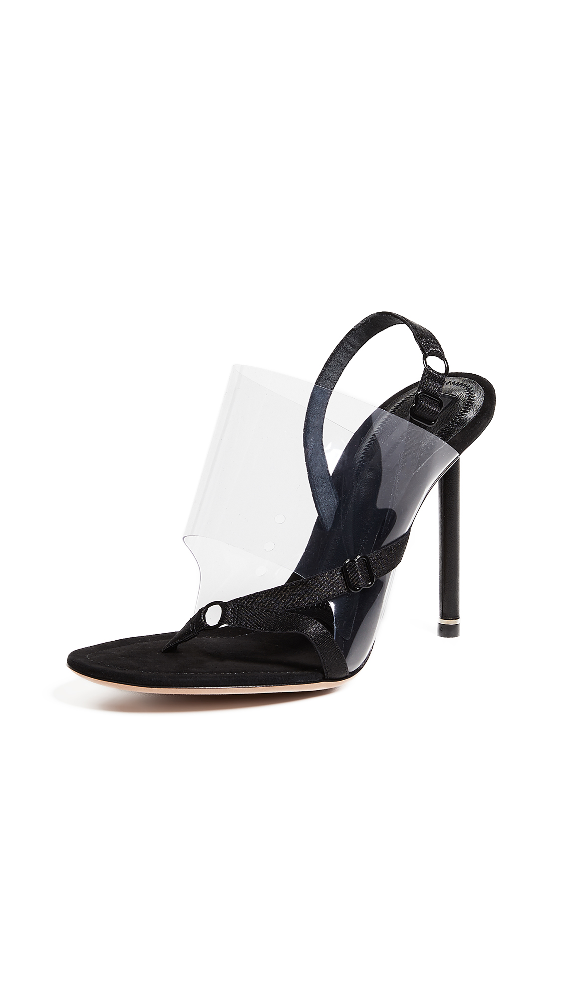Alexander Wang Kaia High Heel Sandals - Black