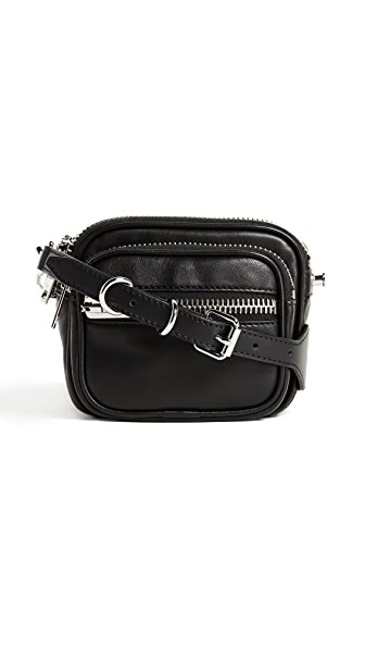 Alexander Wang Attica Soft Shoulder Bag In Black
