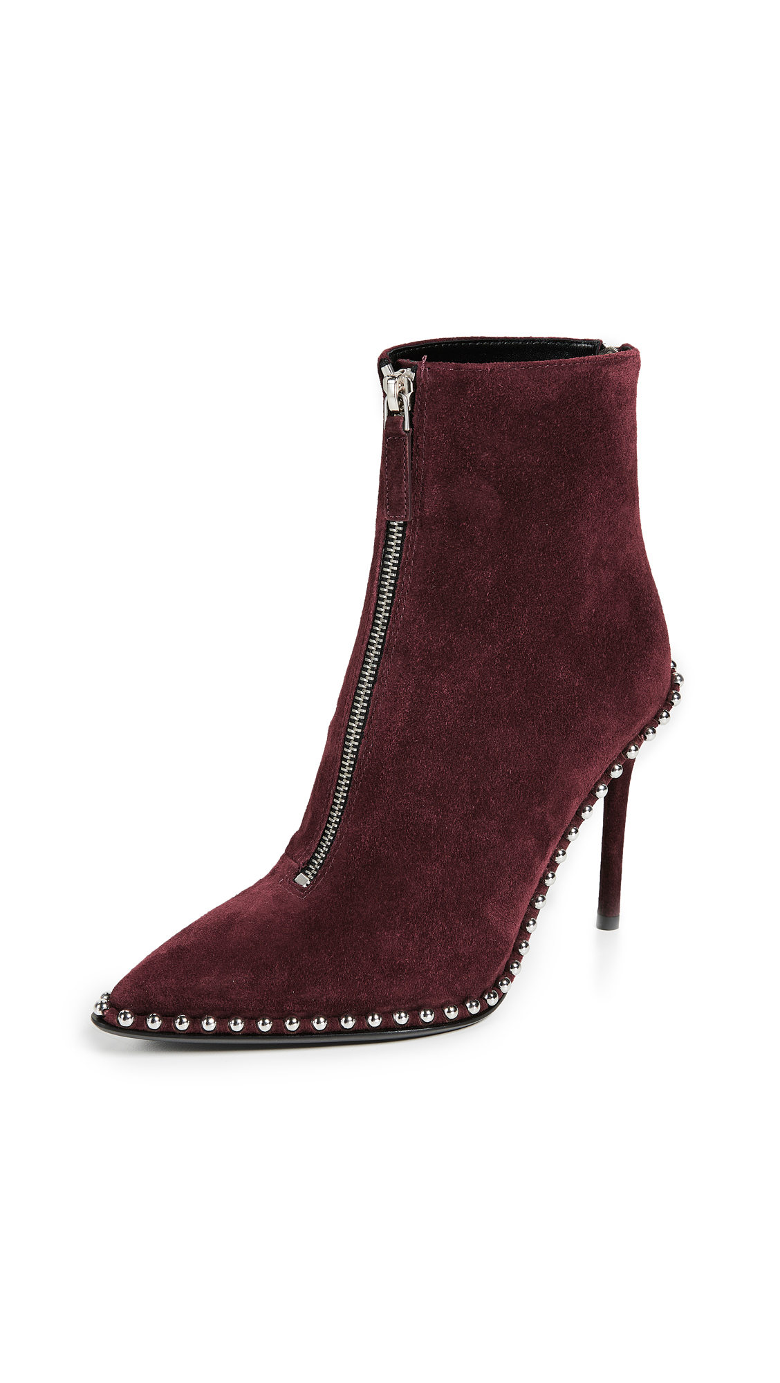 Alexander Wang Eri Booties - Cranberry