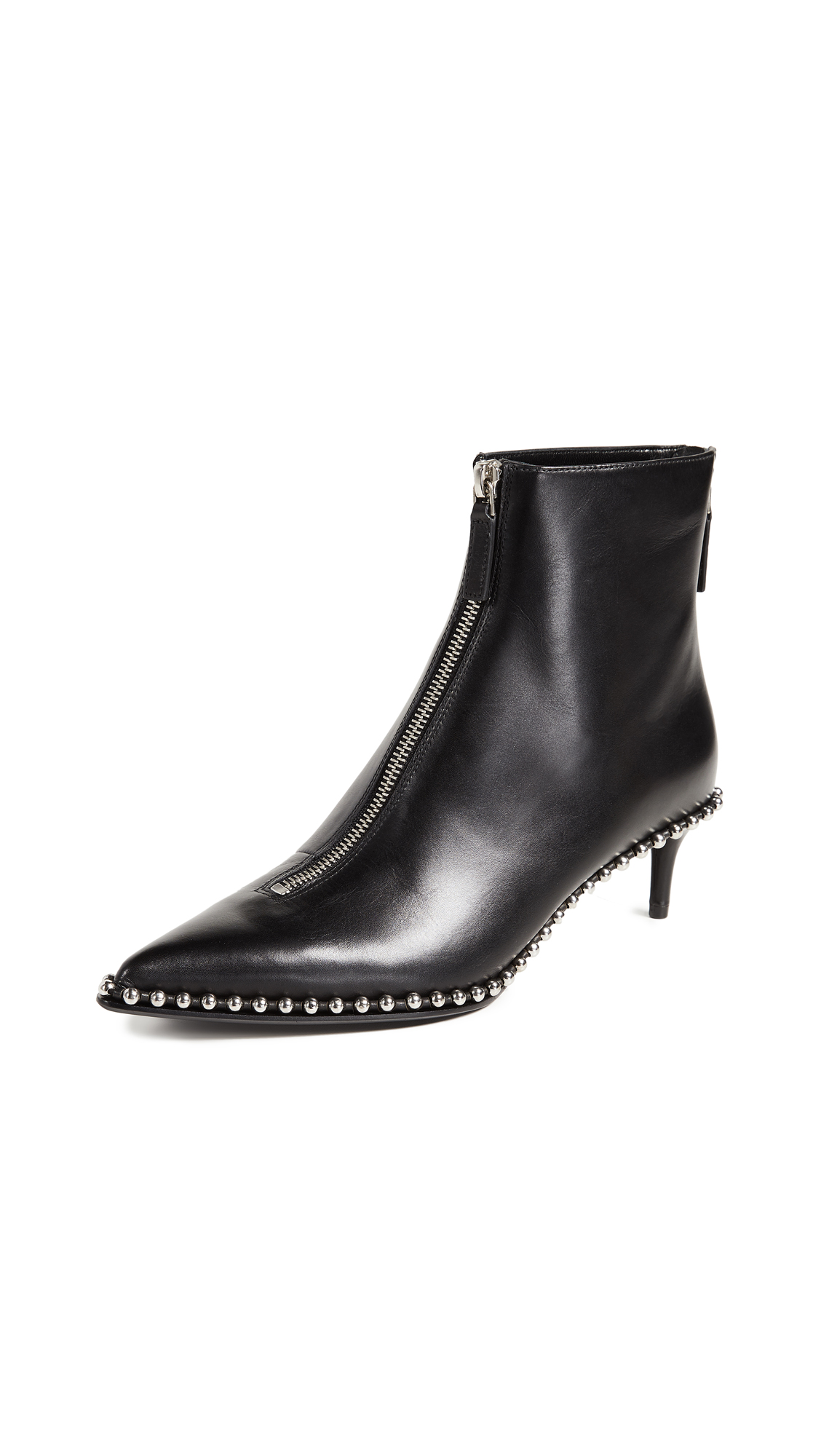 Alexander Wang Eri Low Booties - Black