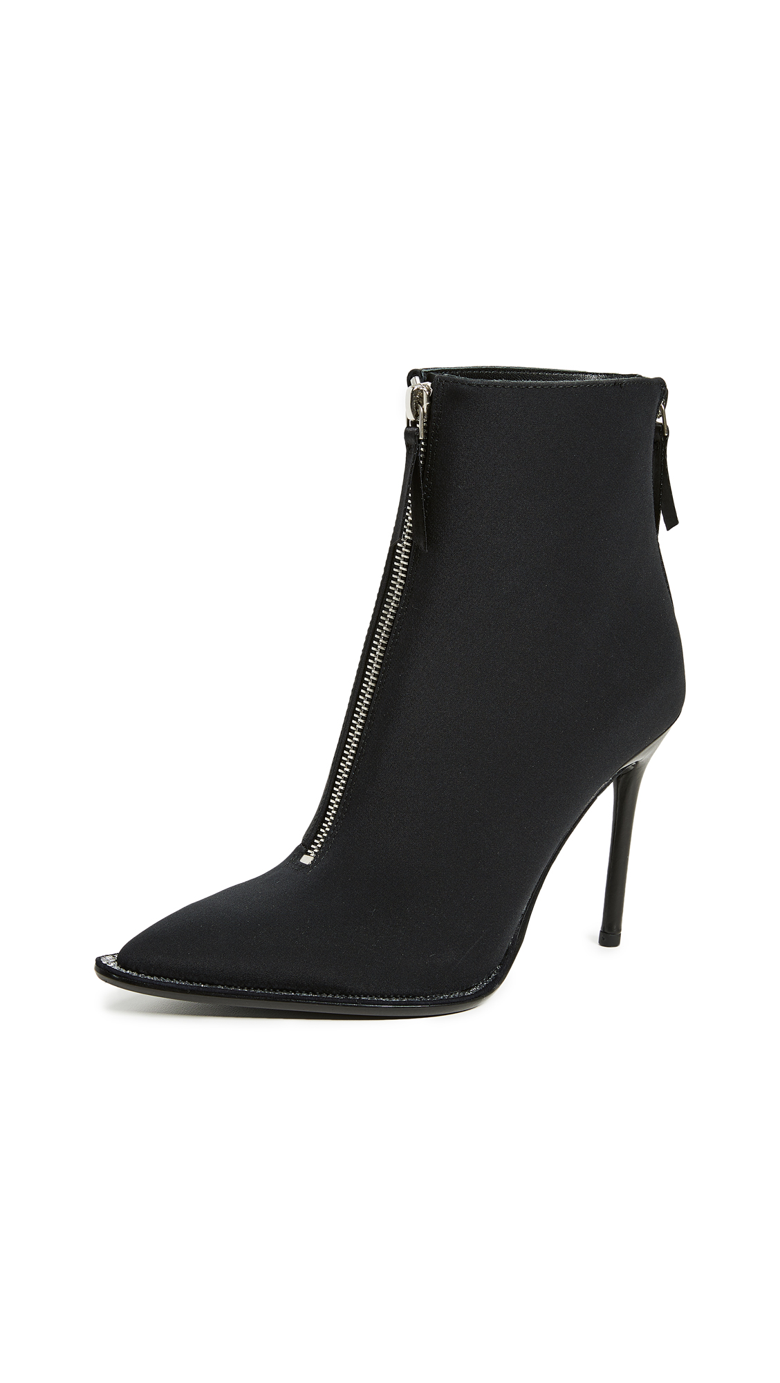 Alexander Wang Eri Nylon Booties - Black