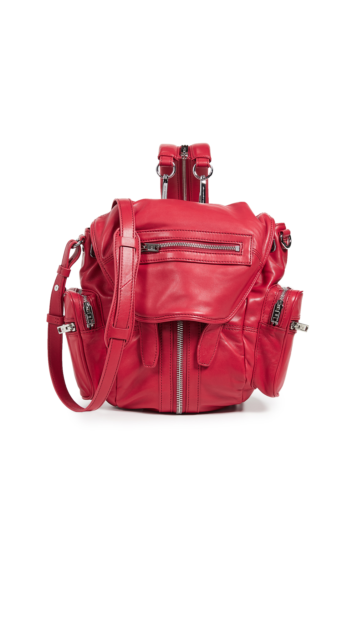Mini Marti Backpack in Red