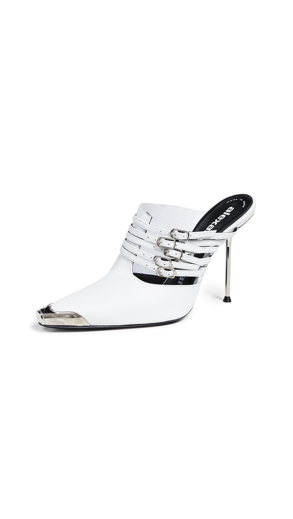 Alexander Wang Minna High Heel Mules - White