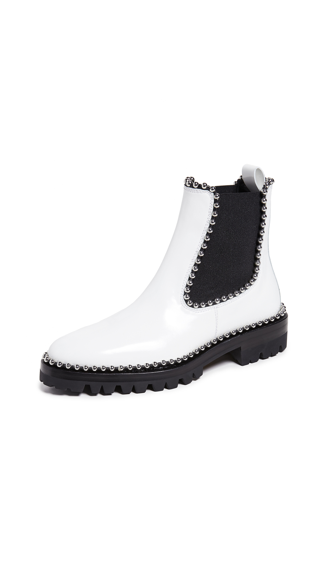 Alexander Wang Spencer Boots - White