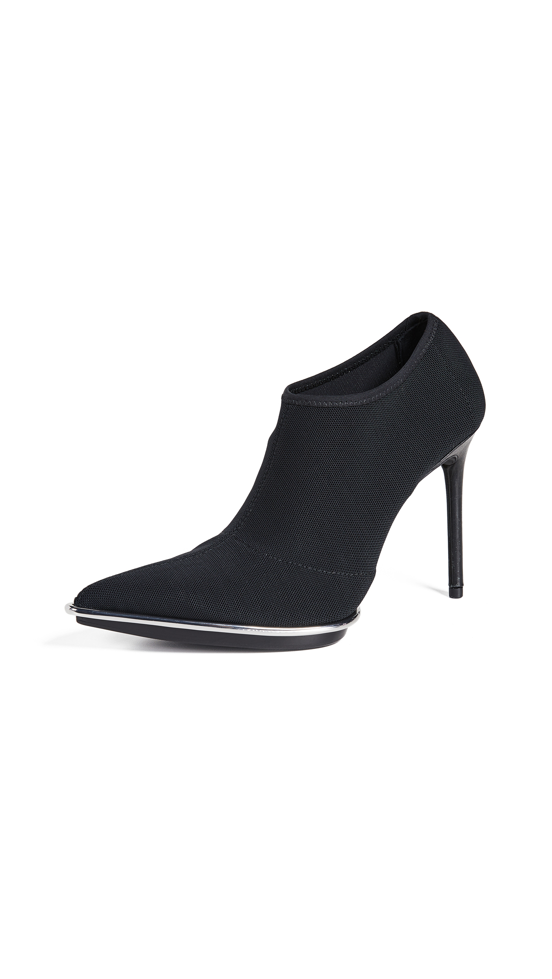 Alexander Wang Cara Halo Pod Booties - Black