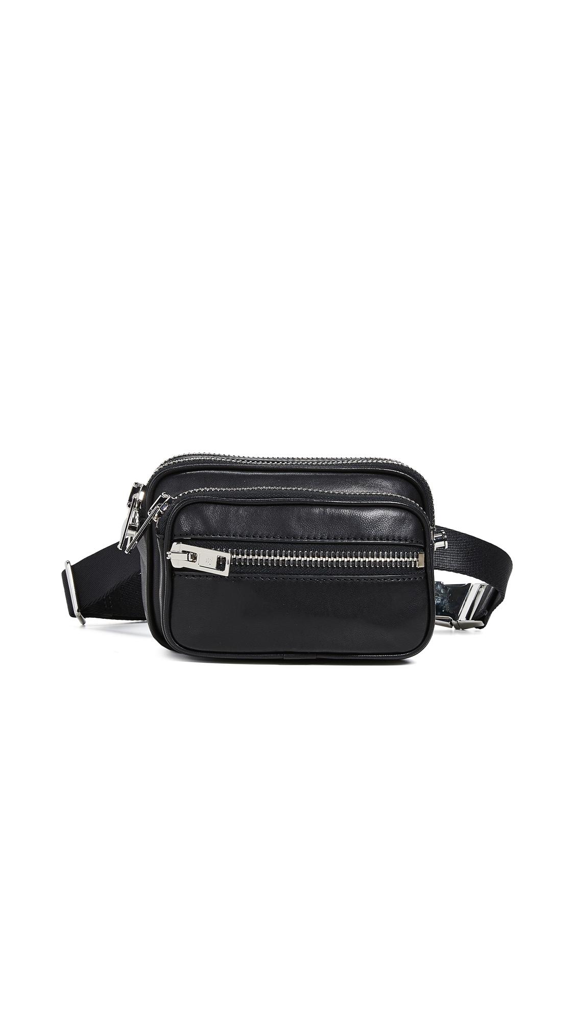 Attica Soft Belt Bag in Black