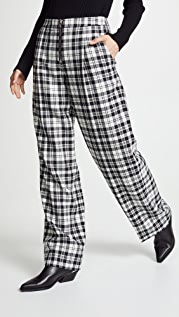 Alexander Wang Classic Single Pleat Pants