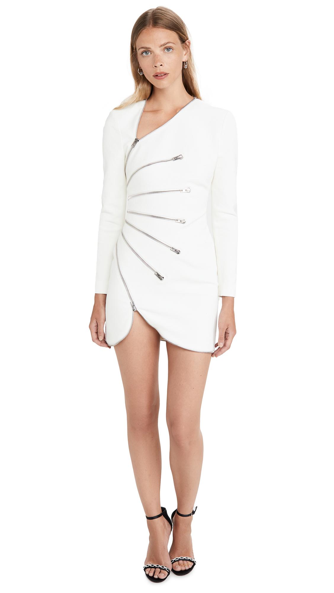 Buy Alexander Wang Long Sleeve Sunburst Zip Dress online beautiful Alexander Wang Clothing, Dresses
