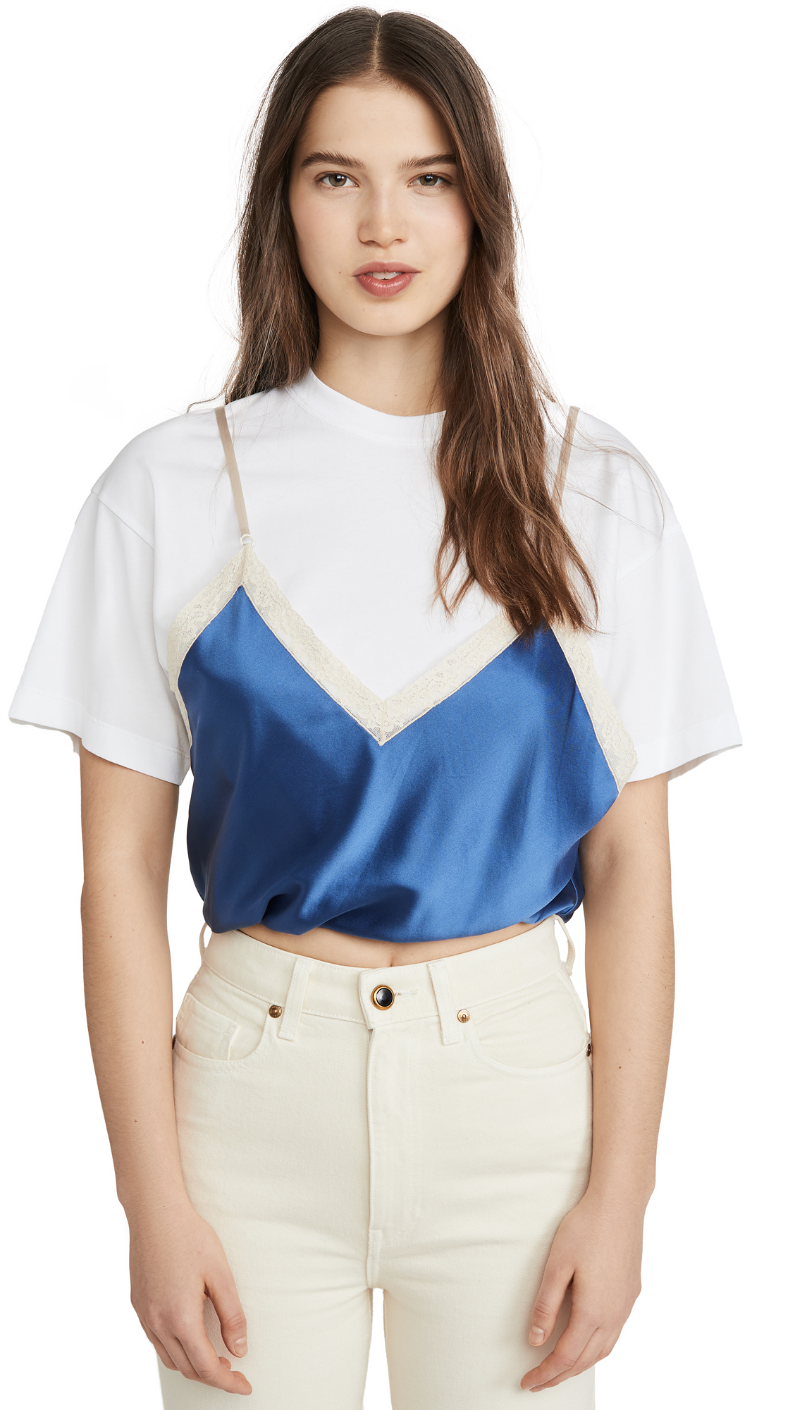 Alexander Wang Draped T-Shirt Cami Hybrid - 20% Off Sale