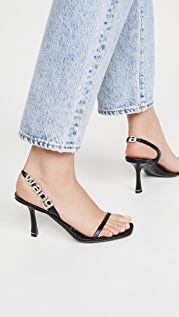 Alexander Wang 85mm Ivy Slingback Sandals