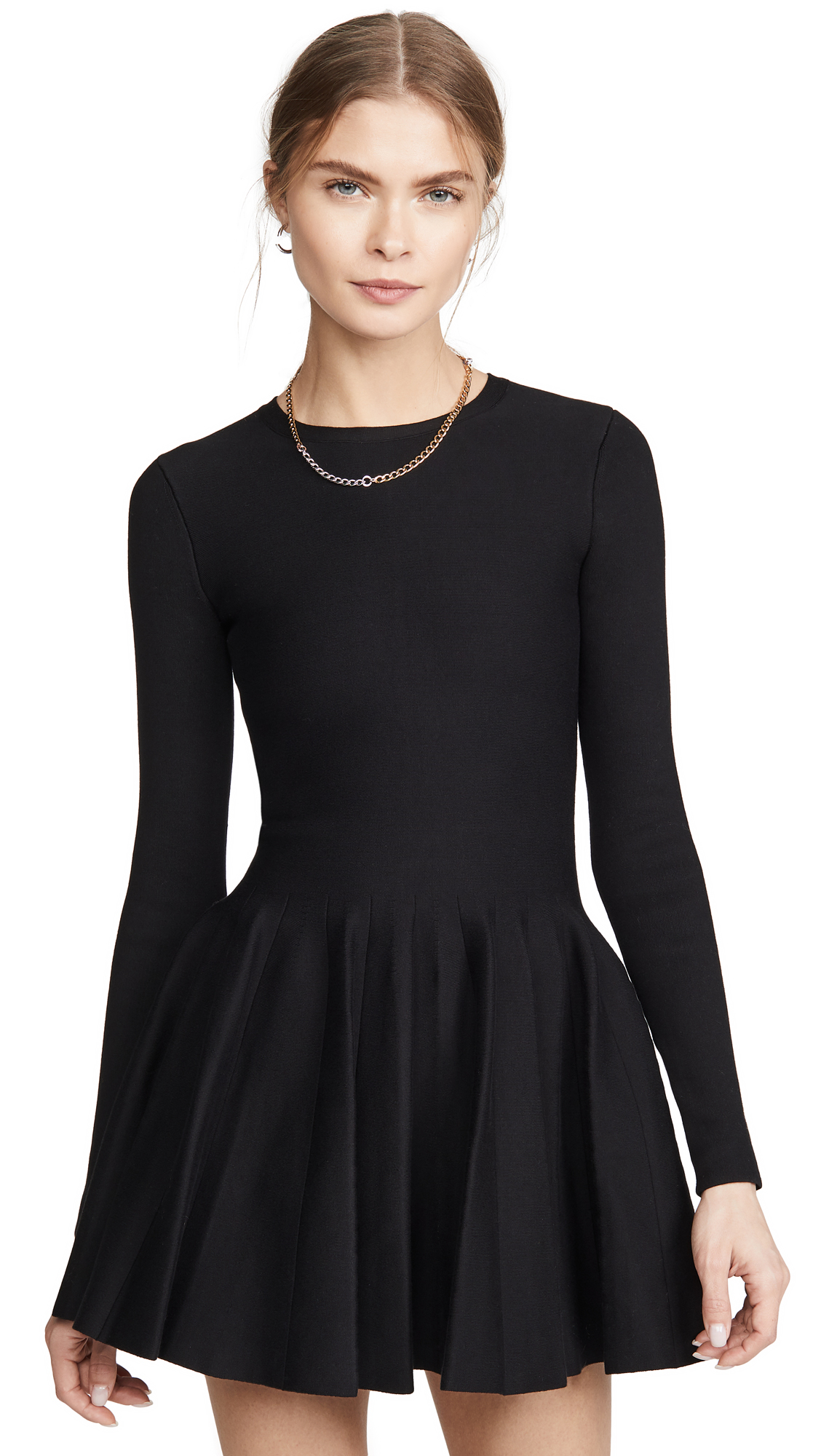 Buy Alexander Wang online - photo of Alexander Wang Shortrowed Long Sleeve Dress