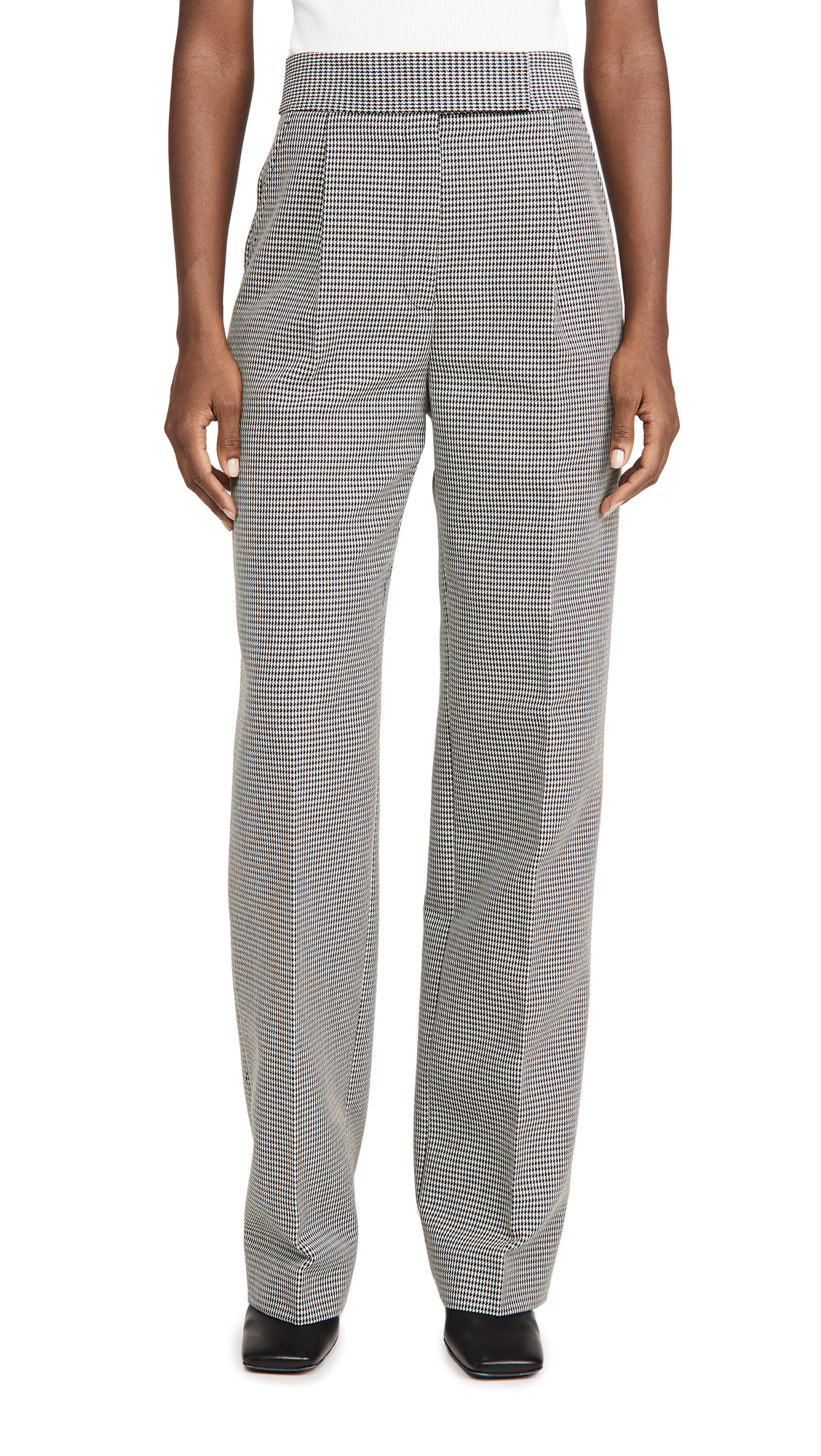 Alexander Wang High Waisted Pleated Pants