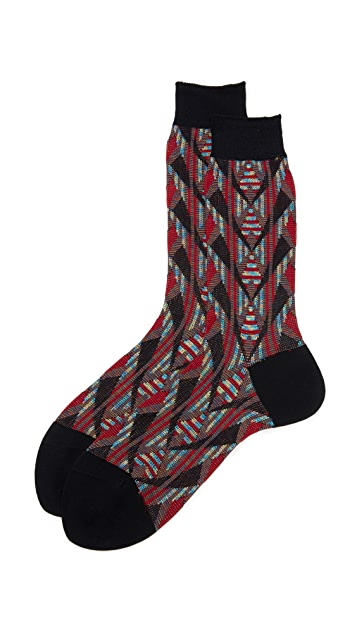 Ayame Pointed Top Socks