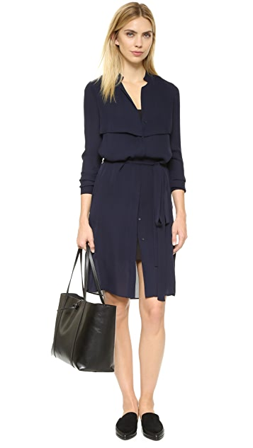 AYR The Silk Trench Dress