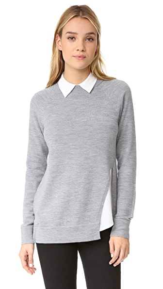 AYR Twisted Seam Tunic - Heather Grey