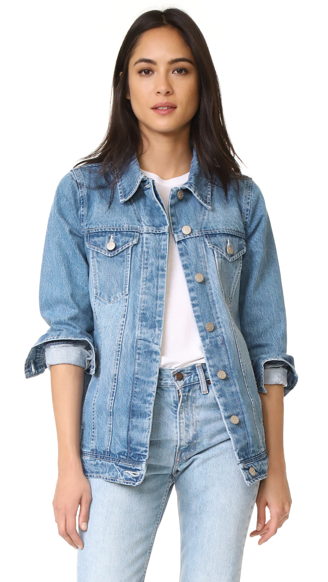 Buy AYR The Double Star Denim Jacket online beautiful AYR Clothing, Jackets
