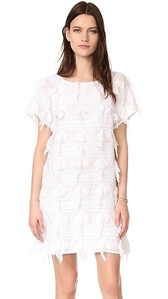 AYR The Fluff Dress In White