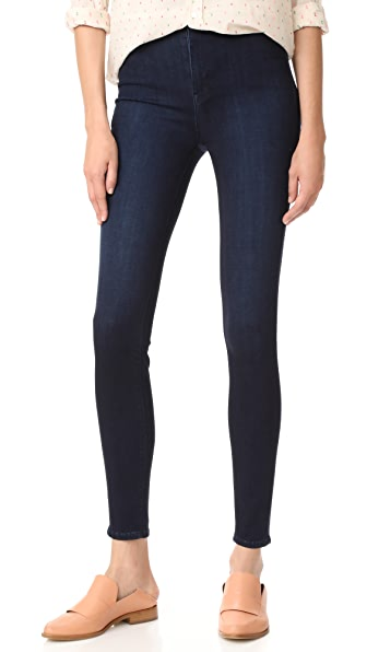 AYR The High Rise Skinny Jeans - Jaguar Legs
