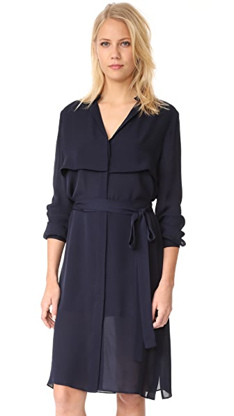 AYR The Silk Trench Dress