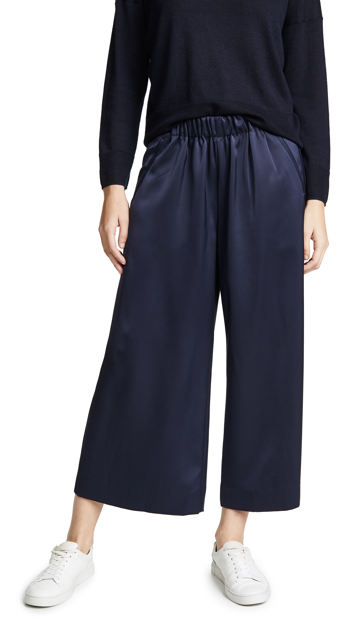 AYR The Blush Pants in Deep Marine