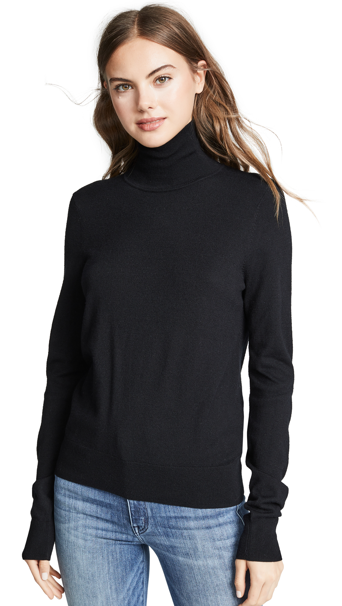AYR The Hi T Sweater in Black