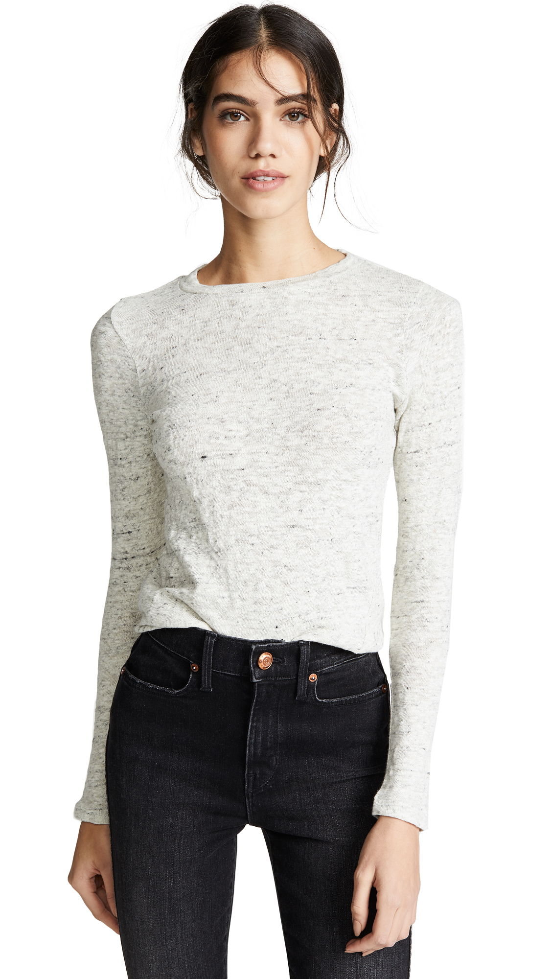 AYR Later Skater Knit Top in Flurry Knit