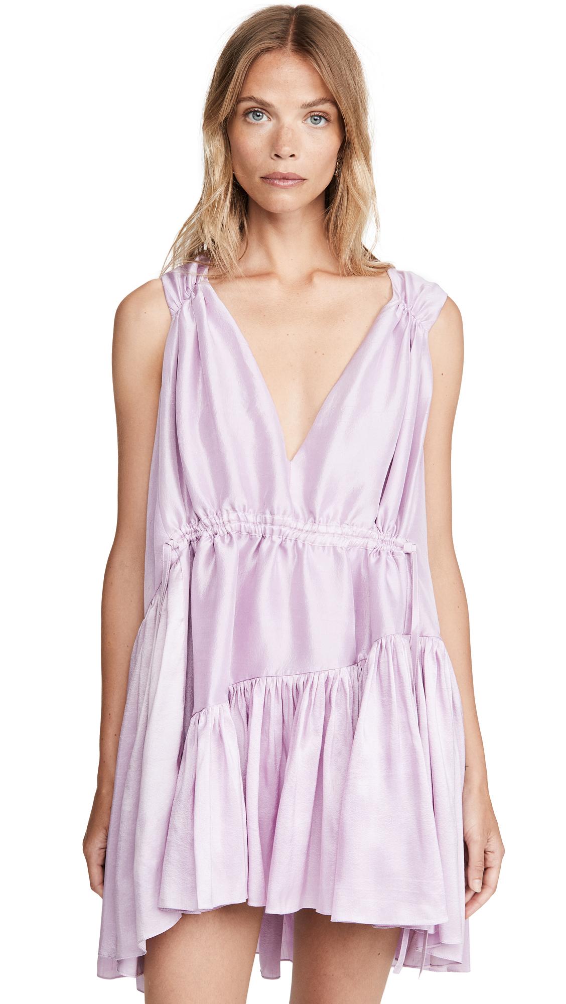 Azeeza Nella Drawstring Mini Dress - 40% Off Sale