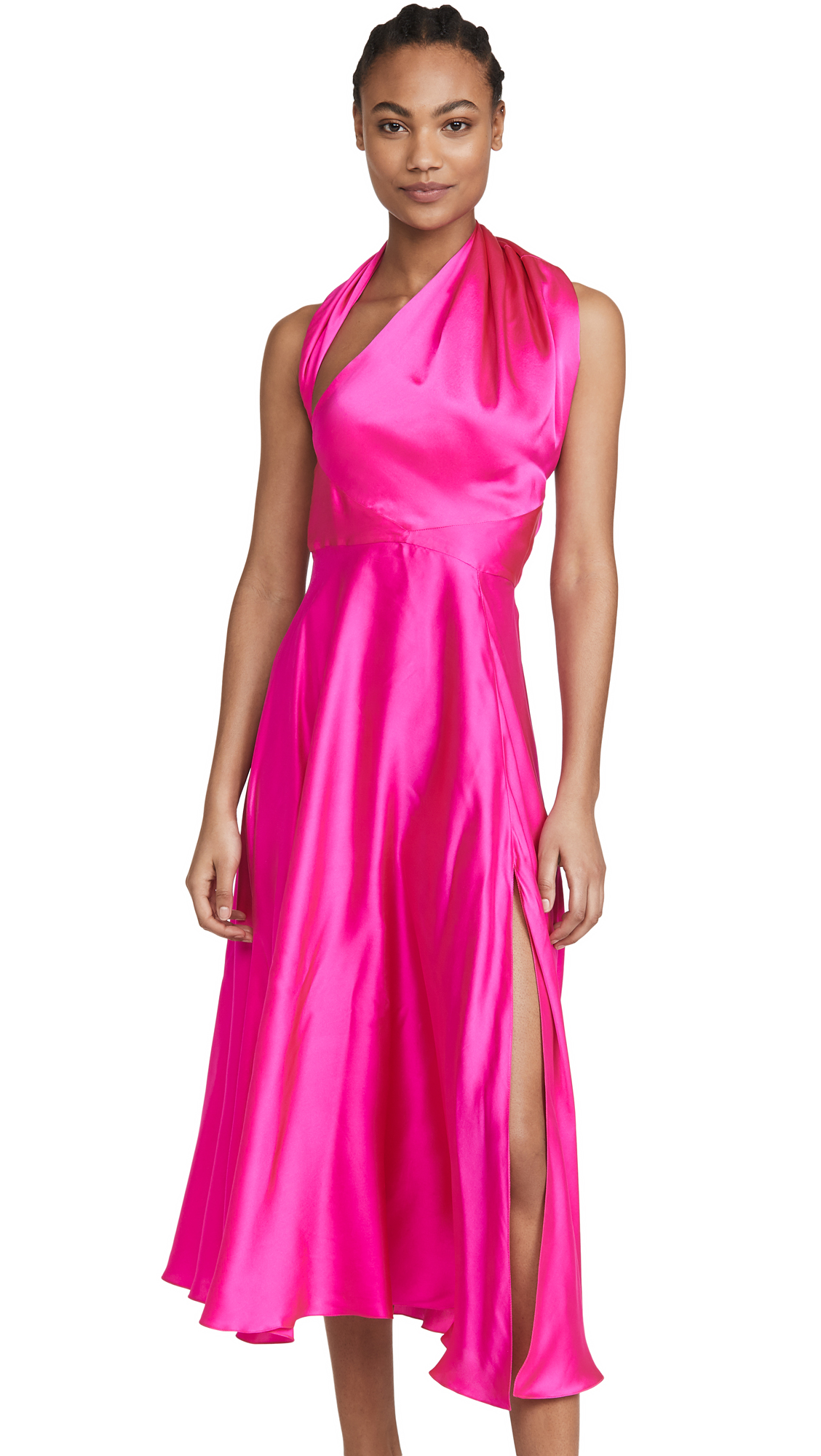 Azeeza Midi Dress with Slit - 50% Off Sale