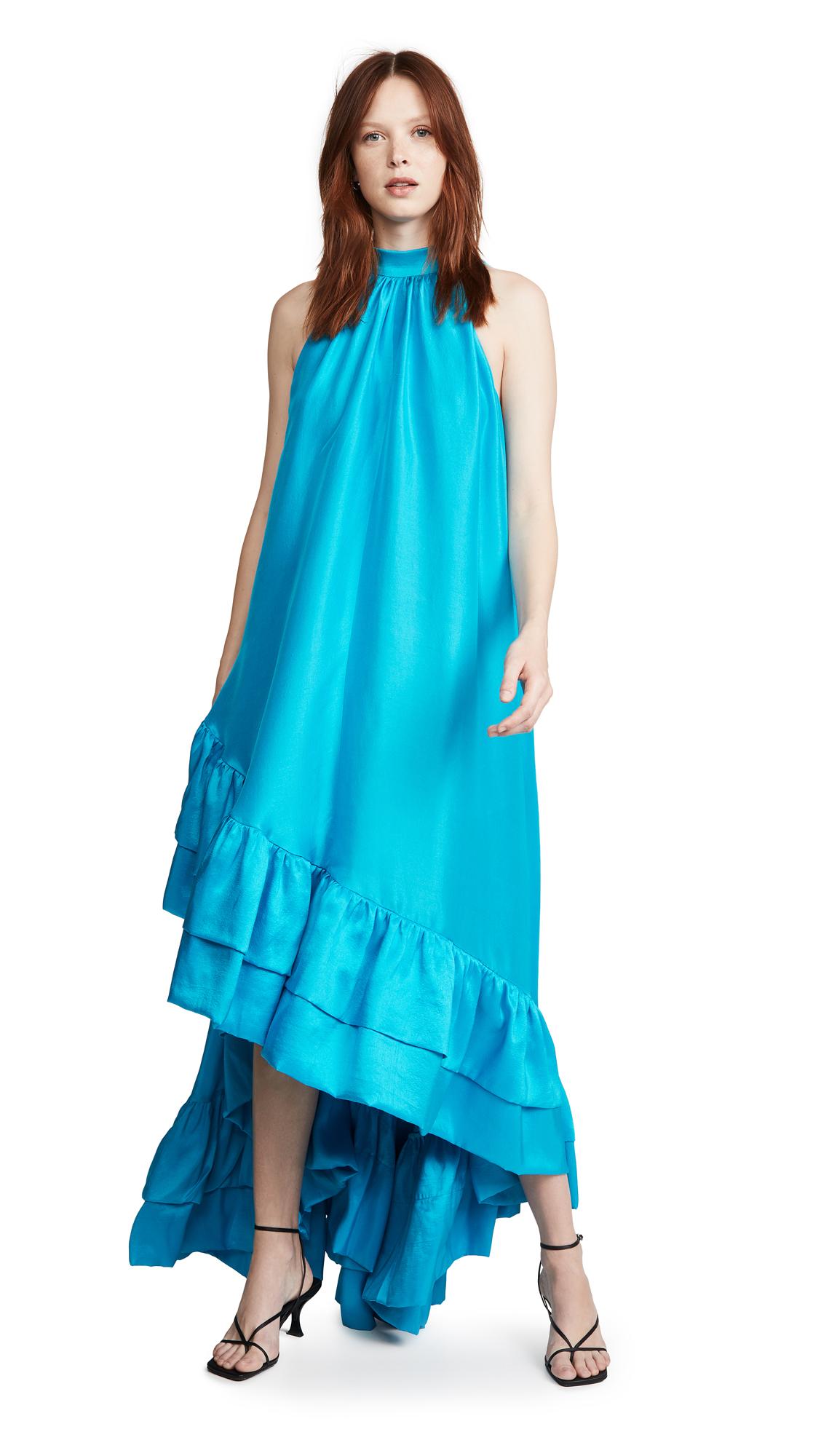 Azeeza High Neck Gown - 50% Off Sale