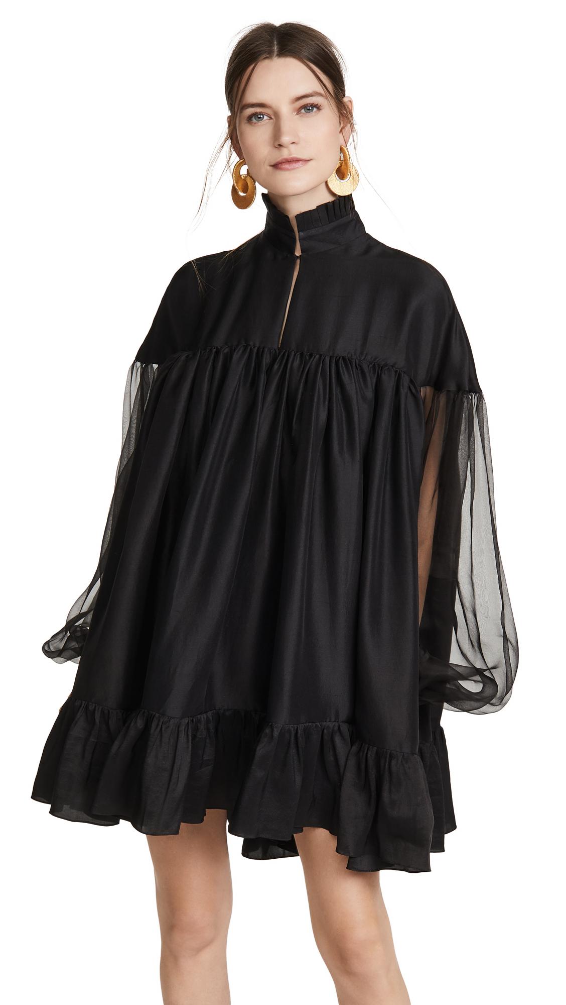 Azeeza High Neck Long Sleeve Mini Dress - 40% Off Sale