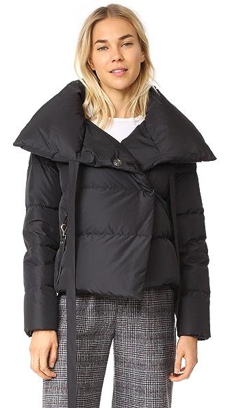 BACON Puffa Jacket In Black