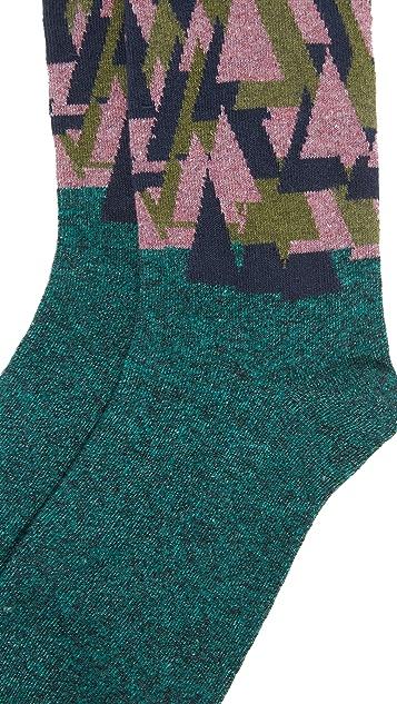 Badelaine Paris Sapins Socks