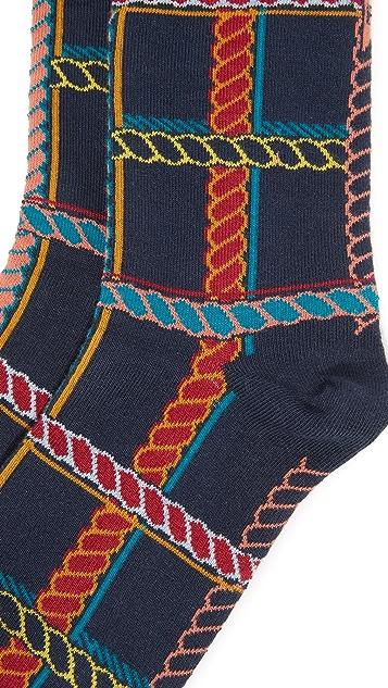 Badelaine Paris Tartan Rope Socks