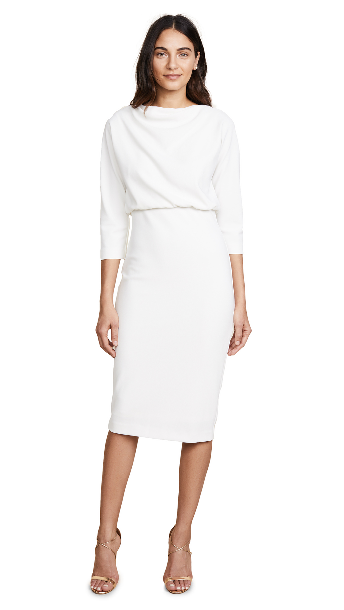 6a7ba42fd Badgley Mischka Collection Long Sleeve Dress | SHOPBOP
