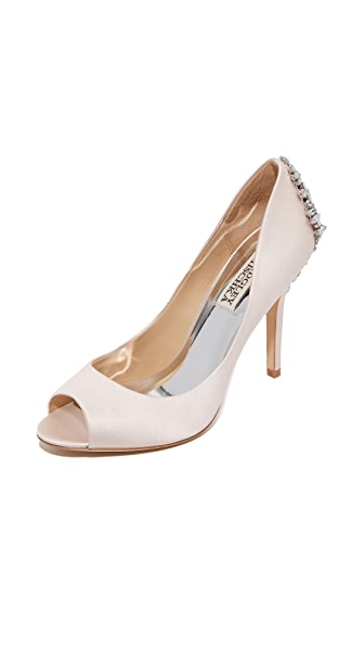 Badgley Mischka Nilla Pumps - Light Pink at Shopbop