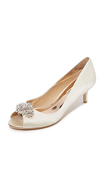 Badgley Mischka Nakita Pumps - Ivory at Shopbop