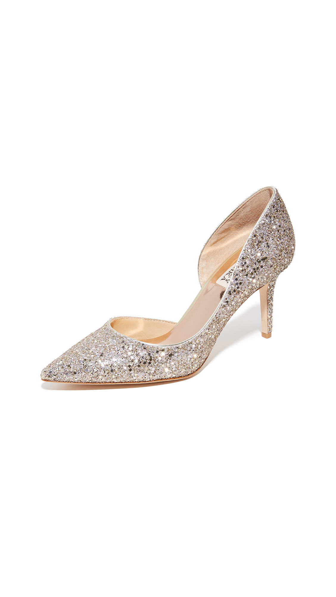 Badgley Mischka Daisy Glitter Pumps - 25% Off Sale