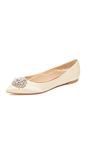 Badgley Mischka Davis Flats
