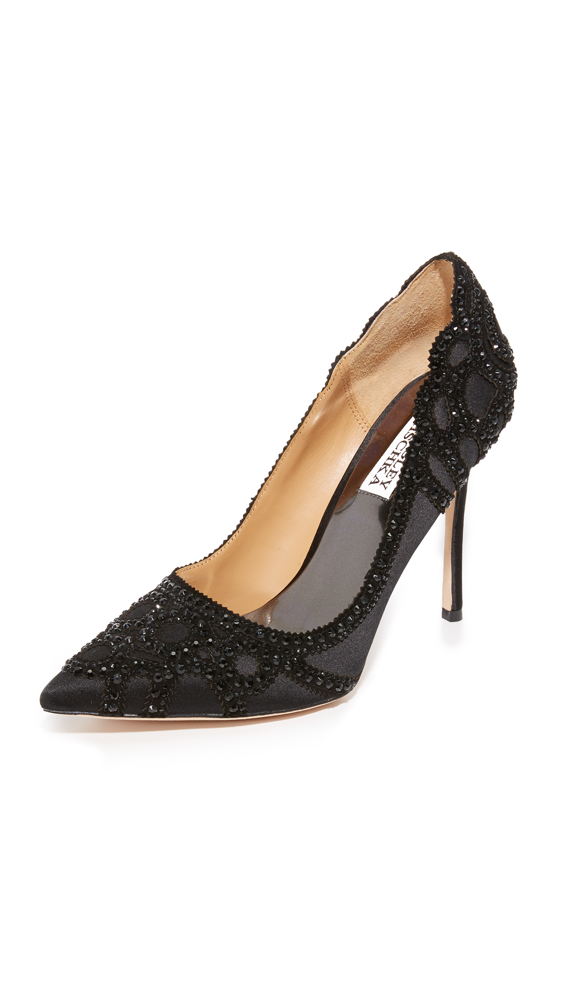 badgley mischka female badgley mischka rouge pumps black
