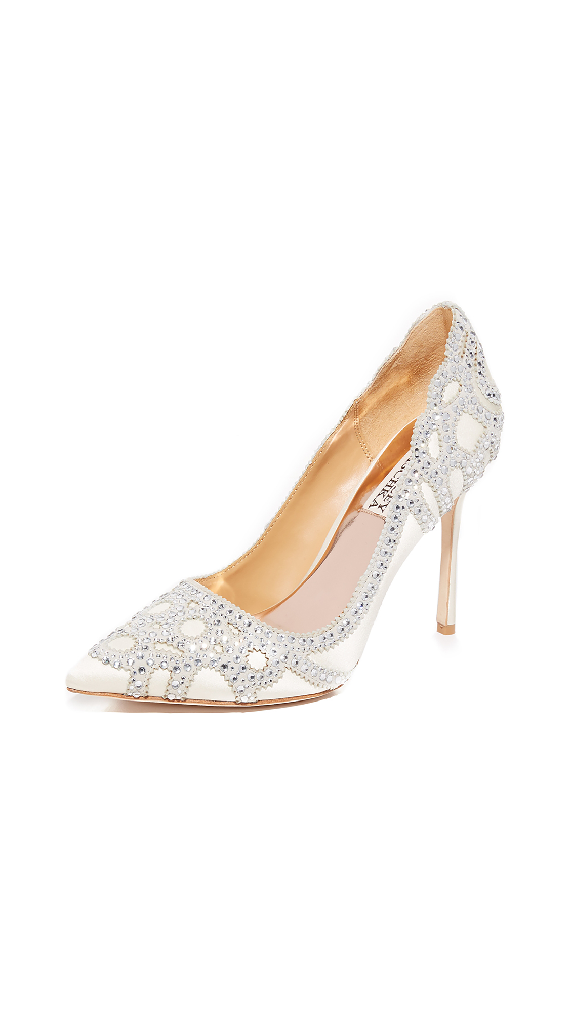 Badgley Mischka Rouge Pumps - Ivory
