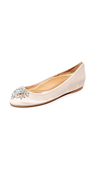 Badgley Mischka Bianca Flats - Light Pink