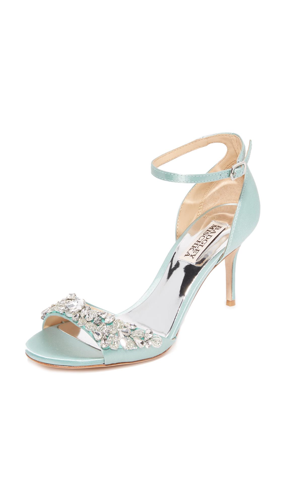 Photo of Badgley Mischka Bankston Sandals Blue Radiance - Badgley Mischka online