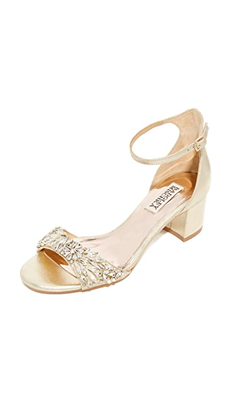 Badgley Mischka Tamara Sandals - Platino