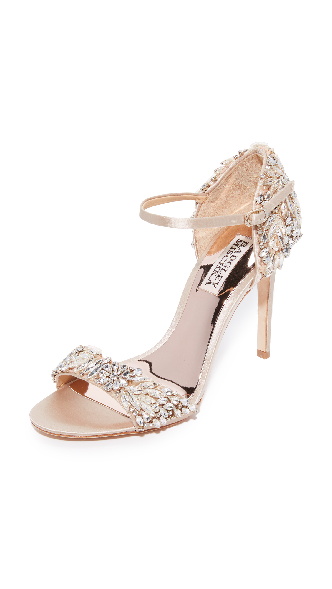 Badgley Mischka Tampa Sandals - Nude